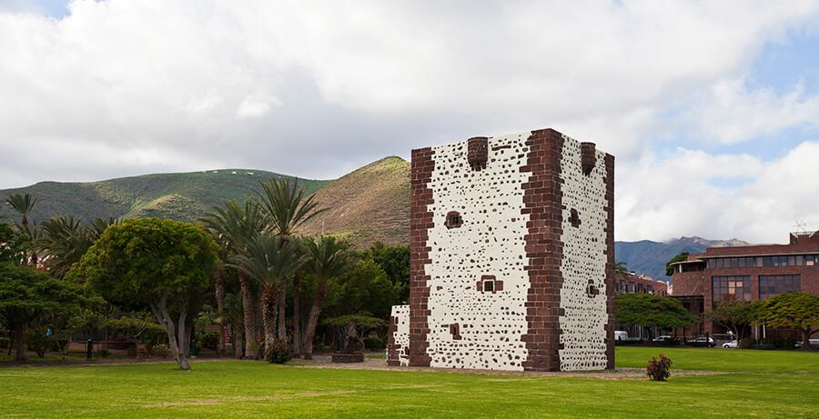 torre del Conde en San Sebastián de La Gomera