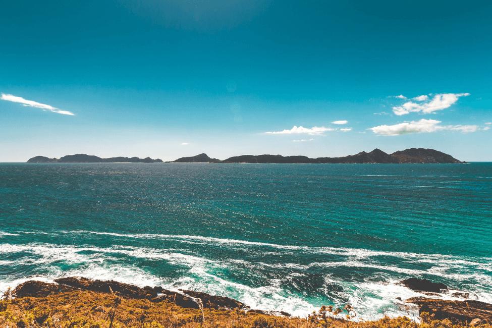 Islas Cies playa