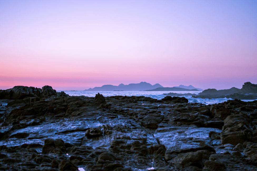 Islas Cies rocas