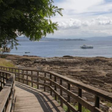 Isla de Ons barco desde Sanxenxo