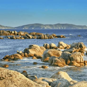 Isla de Ons barco desde Vigo