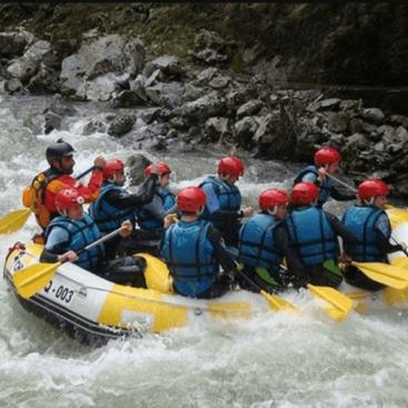 Rafting río Ebro